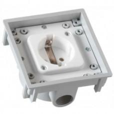 1471601 ABL SURSUM Основание лючка BOWA с розеткой IP41 94*94 мм