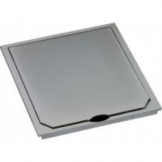 1632ESM ABL SURSUM Крышка лючка BOWA на 2 розетки IP41 112*112 мм. Цвет: нержавеющая сталь