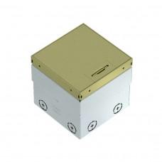 7368348 UDHome2 OBO Bettermann, люк на 2 модуля, крышка латунь, пустой